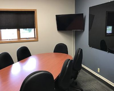 Private Meeting Room for 8 at Launch Coworking Space