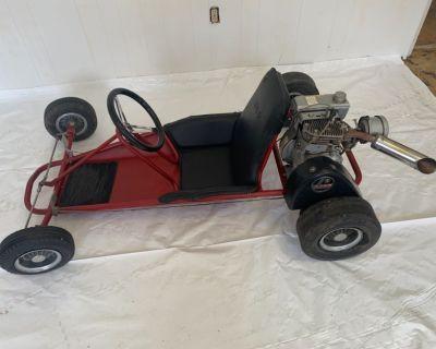 Vintage RUPP Go Kart 1960 ish .. All original rare beautiful !!