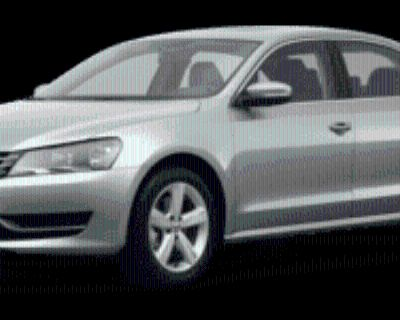 2013 Volkswagen Passat SE Sedan 2.5 Auto (PZEV)