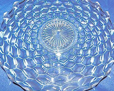 DEAL! ~ Fostoria American 20in. - RARE Crystal Forte Plate * Circa 1932-43