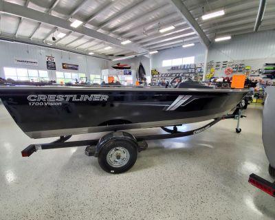2021 Crestliner 1700 VISION SC Aluminum Fish Boats Kaukauna, WI