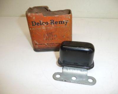 Nos 1938-55 Delco Remy 1116775 3 Hole Bracket Horn Relay 1953-55 Corvette
