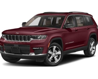 New 2021 Jeep Grand Cherokee L Limited With Navigation & 4WD