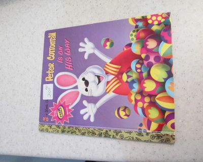 Little Golden Book Peter Cottontail Is On His Way