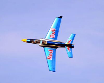 Jet Teng Models 1.7m Red Bull Turbine Viper Jet RTF