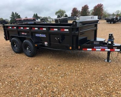 *IN STOCK* Brand New 14' Dump Trailer (14,000# GVWR)