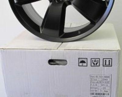 "20"" Factory Style Dodge Challenger Charger Chrysler 300 Satin Black Wheels Rims"