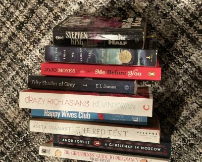 8 Best selling novels!! Only $4 each!!