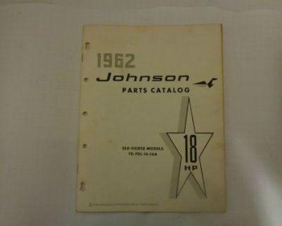 1962 Johnson Parts Catalog 18 Hp Motors @@@check This Out@@@