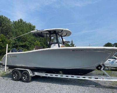 2018 Sea Pro 259 Center Console