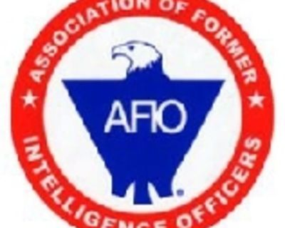 The Association of Former Intelligence Officers (AFIO)- NM Chapter- Will meet Wednesday,...