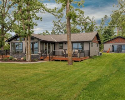 Spectacular New Lakefront Home On Main Gull Lake With Bunkhouse - Sleeps 14 - Nisswa