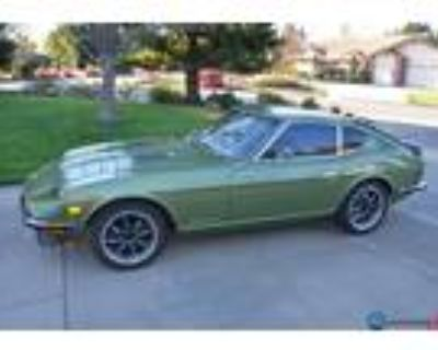 1973 Datsun 240Z L28 Metallic Green