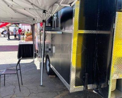 2020 8' x 12' Health Dept Inspected Mobile Kitchen Food Concession Trailer