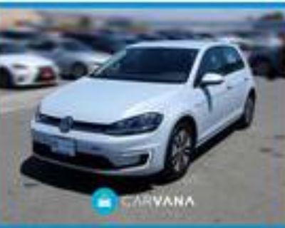 2017 Volkswagen e-Golf Silver, 1693 miles
