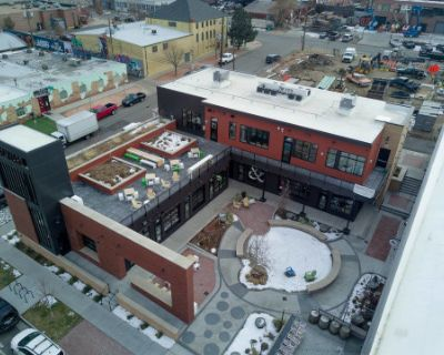 Spacious Rooftop for Outdoor Shoots in the RiNo Art District, Colorado, CO