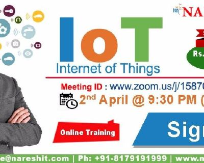 IoT Online Training in the USA with Special Offer - NareshIT