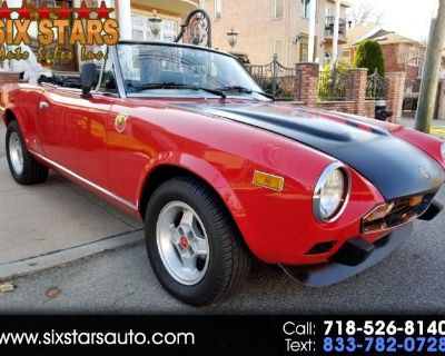 1979 Fiat Spider 2000 Base