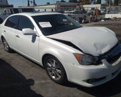 Salvage White 2008 Toyota Avalon