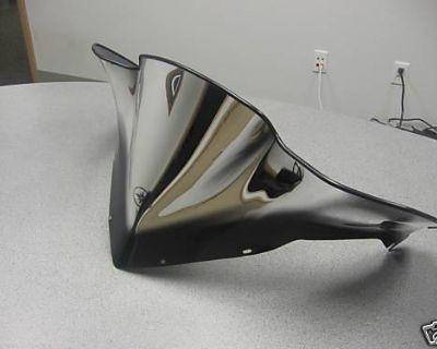 New Polaris Snowmobile Fusion Low Chrome Windshield
