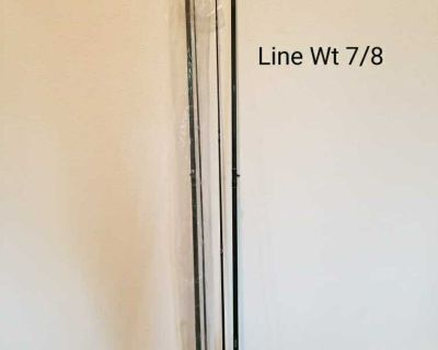 NEW 8.5 ft Willow Creek Fly Rod. Line wt 7/8