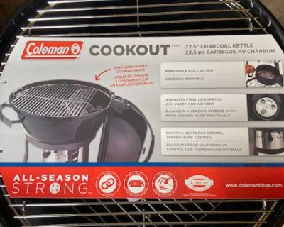 Coleman cookout charcoal kettle