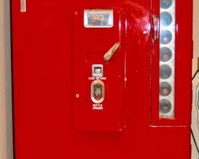 1950's Coca-Cola Vendo Machine 8oz Bottles -