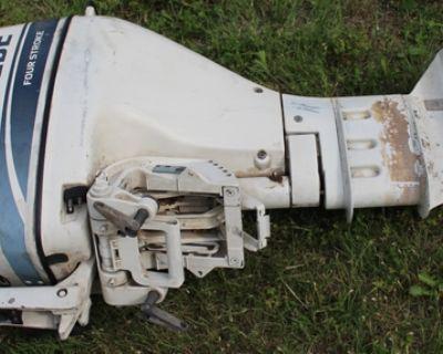 1998 Evinrude 9.9 Four Stroke Boat Engine