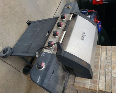 Gas grill - free
