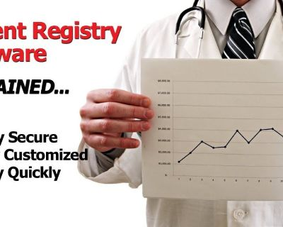 Provide the best patient registry software in USA