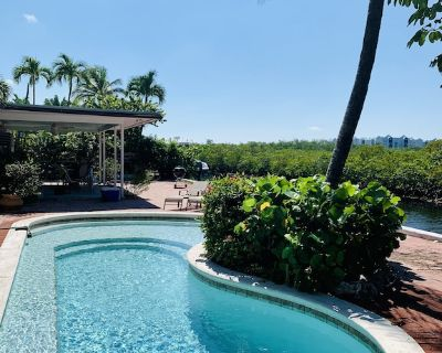 Key West Home/Pool on the Water - New Town