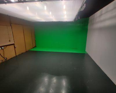 Photo Studio with Chroma Key Green Wall, san francisco, CA