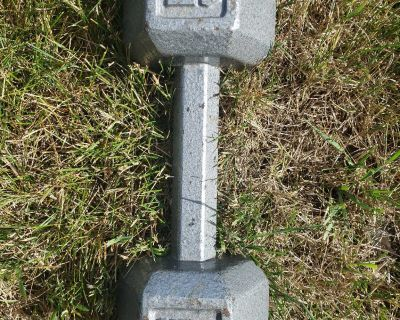 15 Lbs Hex Dumbbell