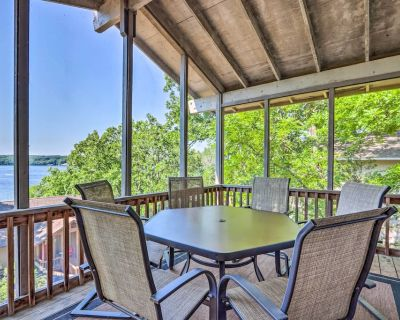 New! Ozarks Cabin w/ Screened Porch + Resort Perks - Osage Beach