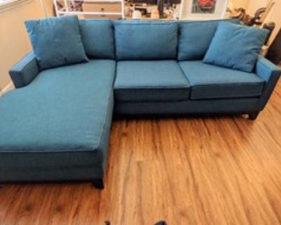 Mid Century Sectional Sofa with Washable Covers