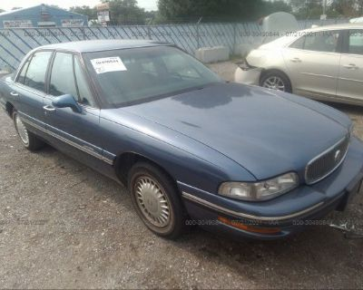 Salvage Blue 1998 Buick Lesabre