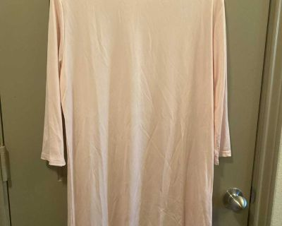 New Large like pink color tunic light weight
