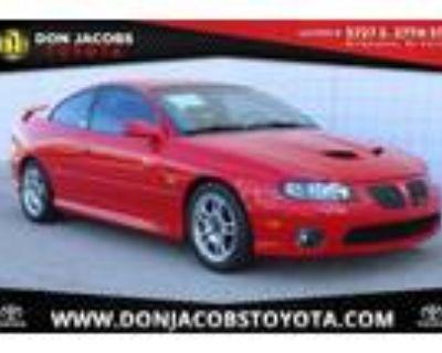 2004 Pontiac GTO Red, 26K miles