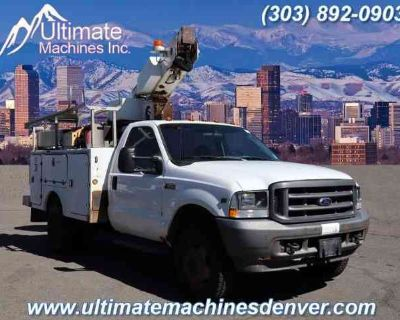 2003 Ford F550 Super Duty Regular Cab & Chassis for sale