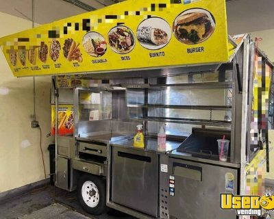 Ready to Work Used 2008 Street Food Vending Concession Cart