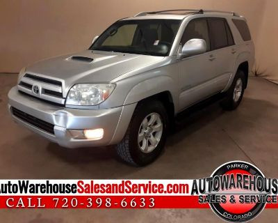 Used 2005 Toyota 4Runner Sport Edition V6 2WD