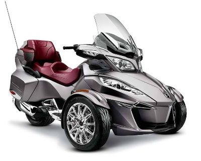 2014 Can-Am Spyder RT Limited 3 Wheel Motorcycle Lake Park, FL