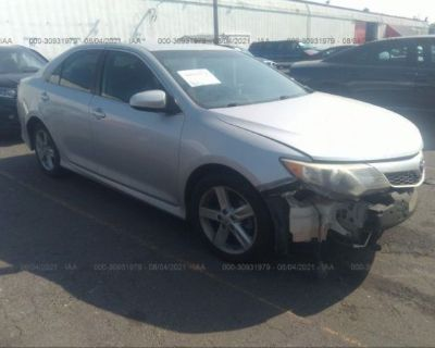 Salvage Silver 2012 Toyota Camry