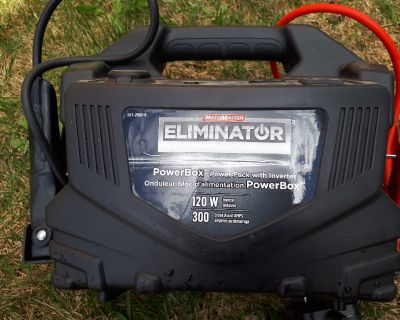 Eliminator PowerBox power pack with inverter