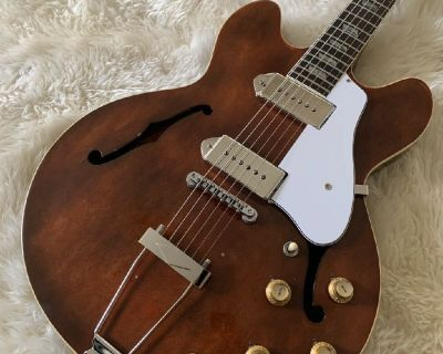 1966 Epiphone ES230TD Casino VINTAGE Electric Guitar RARE Gibson USA Made w HSC