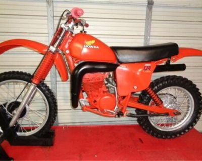1979 Honda Dirt Bike