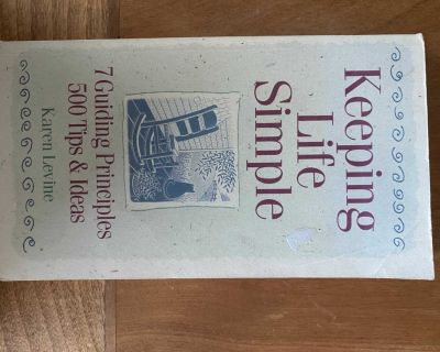 Keeping Life Simple Book