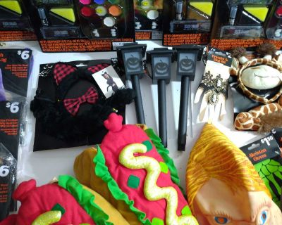 Halloween Party Supplies, Makeup, Lights, Costumes, & More