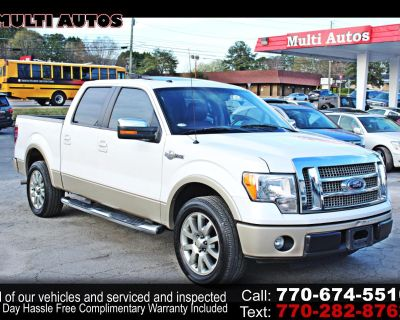 Used 2010 Ford F-150 KingRanch SuperCrew 5.5-ft. Bed 2WD