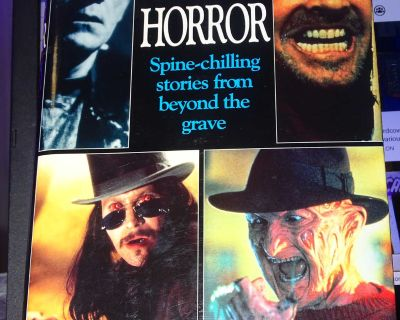 GRET TALES OF HORROR HARD COVER BOOK, OVER 500 PAGES, READ WHOLE DESCRIPTION